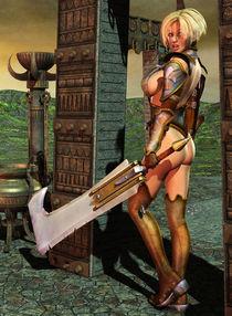 Warrior Daisy by Uncle Sickey