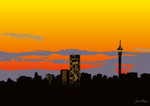 Jozi Skyline von Linda Williams