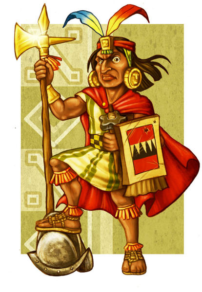 """Inca Warrior"" Graphic/Illustration art prints and posters ..."