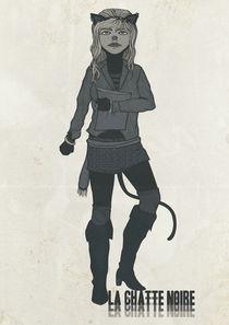 La Chatte Noire by Andrea Moresco