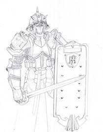 German mixed medieval armor by maanfuynn-cyllguruth
