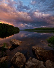 Sunset Lake von Scott Smith