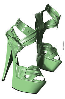 PLATFORM SHOES by SIMON HOWARD