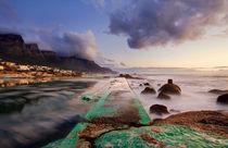 Camps Bay Tidal Pool by Sivan Miller