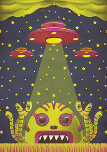 Alien Toxic Invasion von Andrea Moresco
