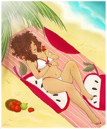 Summer Lady von Yatxel SanchezSuero