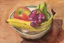 Bowl of Fruit von Tannie Duong