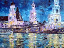 Dresden bei Nacht von Karin müller
