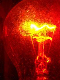 Red bulb by Iulia Stancu