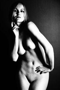Akt 2.0 Erotisches Schwarz Weiß Foto