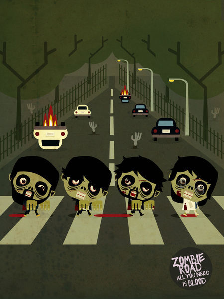 Beatles-zombies