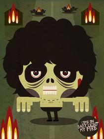 jim morrison zombie by daniel torres