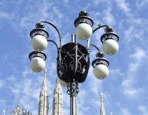 Milano, Lampione in Piazza Duomo by Bianca Valentina Pistillo