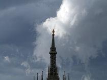 Milano, Duomo e Nuvole von Bianca Valentina Pistillo