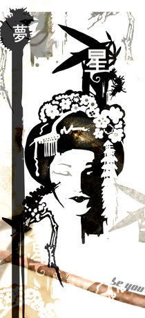 graphic geisha 02 by vieira Da Silva Miguel
