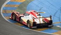 Rebellion Racing Lola Toyota at Le Mans 2011 by tgigreeny