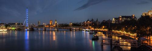 River-thames-night-panorama
