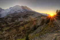 Mt Rainier Sunset von tgigreeny