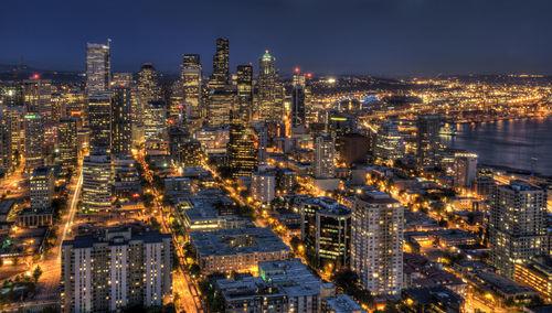 Seattle-at-night