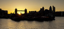 London Sunset von tgigreeny