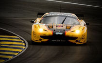 Ferrari 458 at Le Mans 2011 by tgigreeny