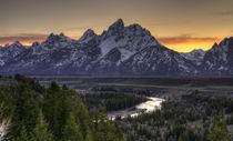 Teton-sunset