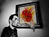 Abstract selfportrait von thepsycho
