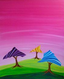 under the pink sky von Katja Finke