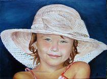 Girl with hat / Mädchen mit Hut von Apostolescu  Sorin