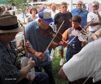 Fiddlin' in the Park by © CK Caldwell