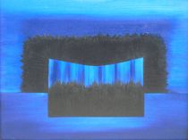 interaction with blue by Katja Finke