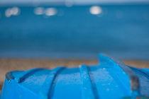 blue boat von Julia Scho