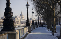 South Bank in Winter von tgigreeny