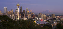 Seattle Skyline at Dusk von tgigreeny