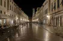 The Stradun at Night von tgigreeny