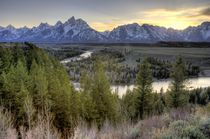 Grand Teton Sunset von tgigreeny