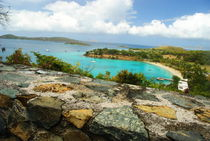Caneel Bay, St. John, US Virgin Islands by Julie Hewitt