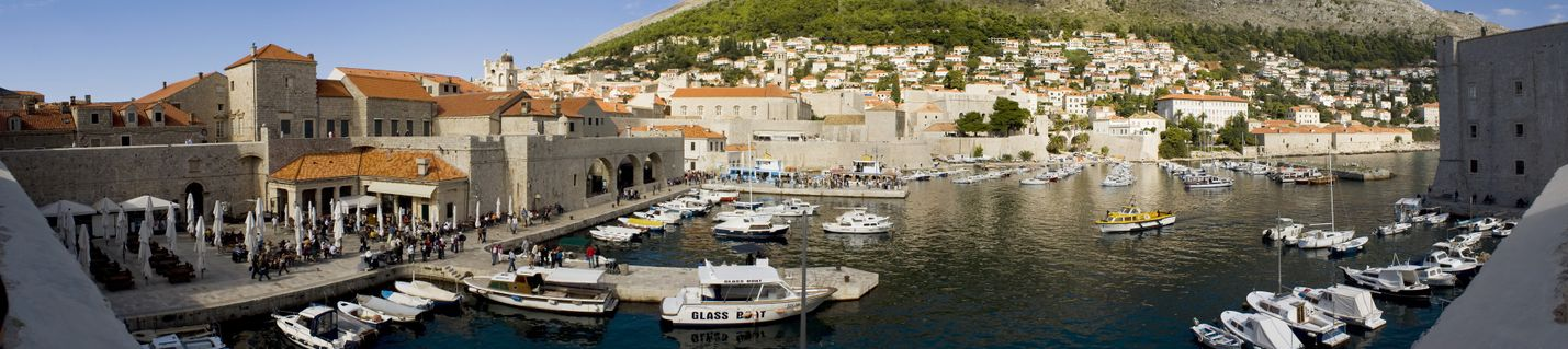 Dubrovnik-harbour-panorama