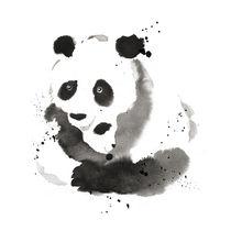 Panda by cyril blondeau