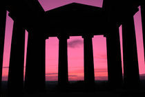 Penshaw Monument Sunset by Steven Stoddart