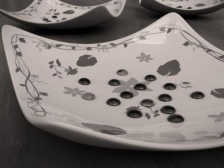 Unique-plate-black