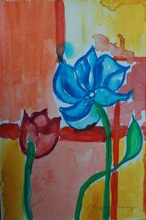 Blaue Blume von Thomas Peter