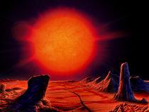 Red giant Sun von Ralf Schoofs
