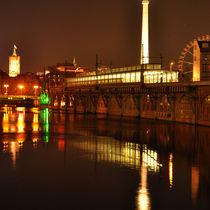 Nachts an der Spree - Berlin by captainsilva