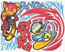 Panda and Gecko von Robin Gibson