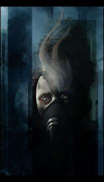 Postnuclear face by Pawel Hordyniak
