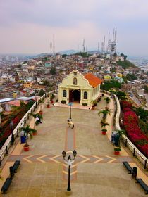 Cerro Santa Ana von Sally Nelsen