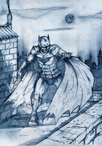 Bat on the roof by Stan Yakimov