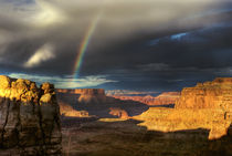Rainbow over Canyonlands von tgigreeny
