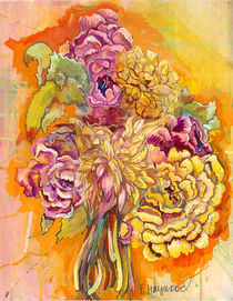 Bright Flowers by elizabeth haywood
